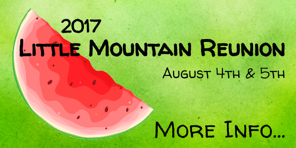 Little Mountain Reunion - More Info