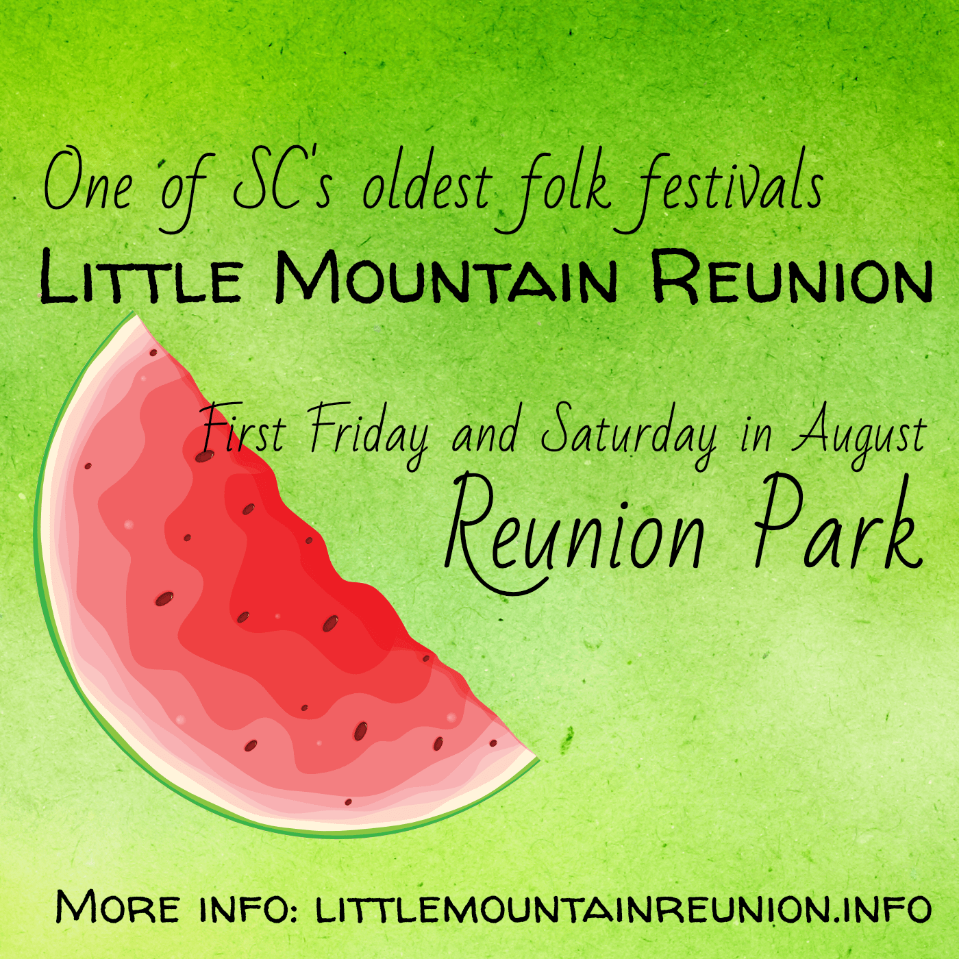 Little Mountain Reunion ad